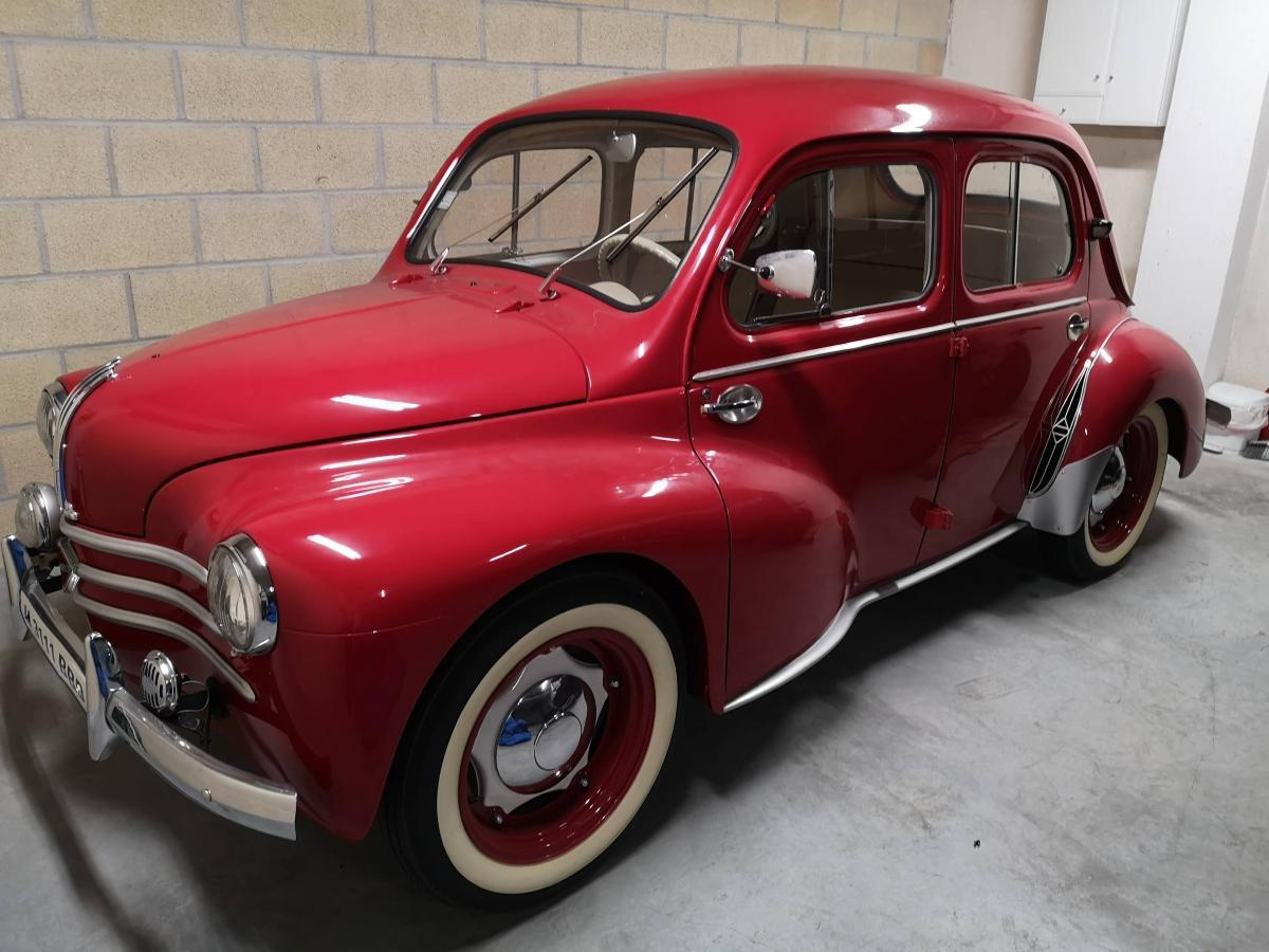 Renault 4cv espagne